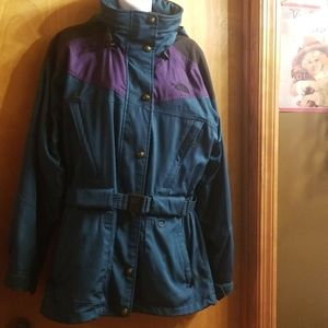 The North Face winter coat, size 8